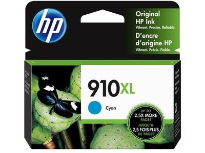 HP 910XL High Yield Cyan Original Ink Cartridge