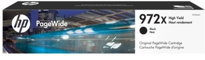 HP 972X High Yield Black Original PageWide Cartridge