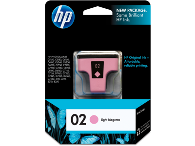 HP 02 Light Magenta Original Ink Cartridge