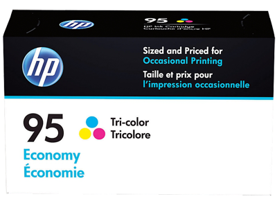 HP 95 Economy Tri-color Original Ink Cartridge