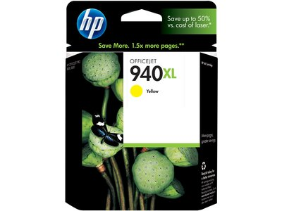 HP 940XL High Yield Yellow Original Ink Cartridge