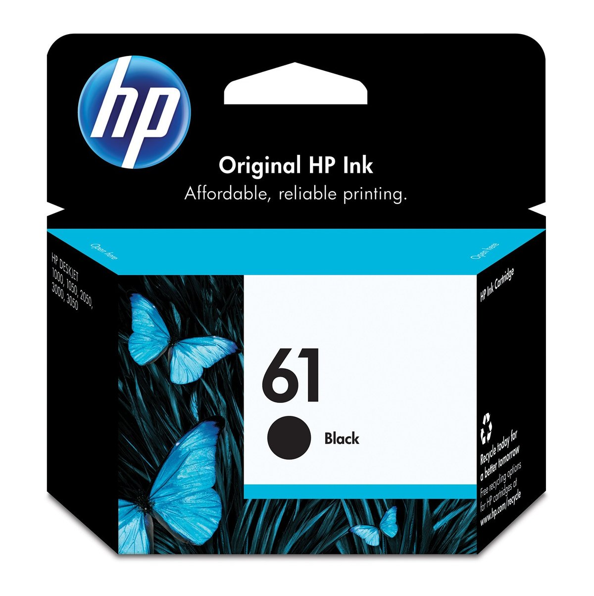HP 61 Black Ink Cartridge (CH561WN) | Staples