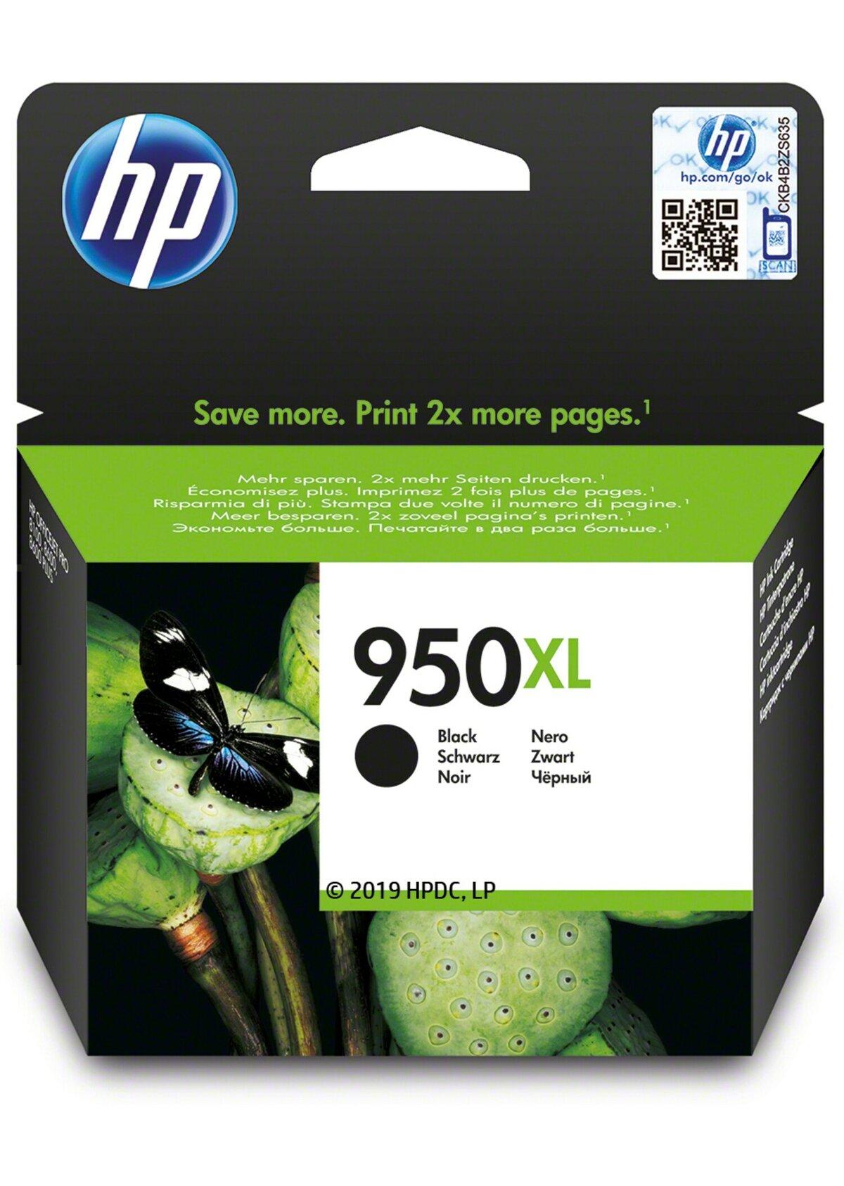 CN045AE HP 950XL High Yield Black Original Ink Cartridge