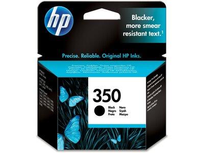 HP 350XL High Yield Black Original Ink Cartridge