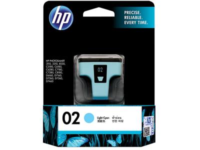 HP 02 Light Cyan Original Ink Cartridge