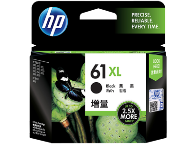 HP 61XL High Yield Black Original Ink Cartridge