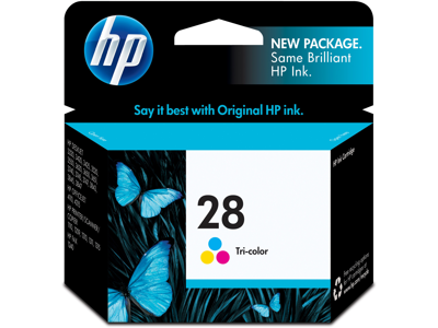 HP 28 Tri-color Original Ink Cartridge