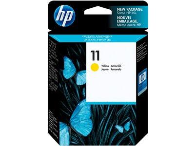 HP 11 Yellow Original Ink Cartridge