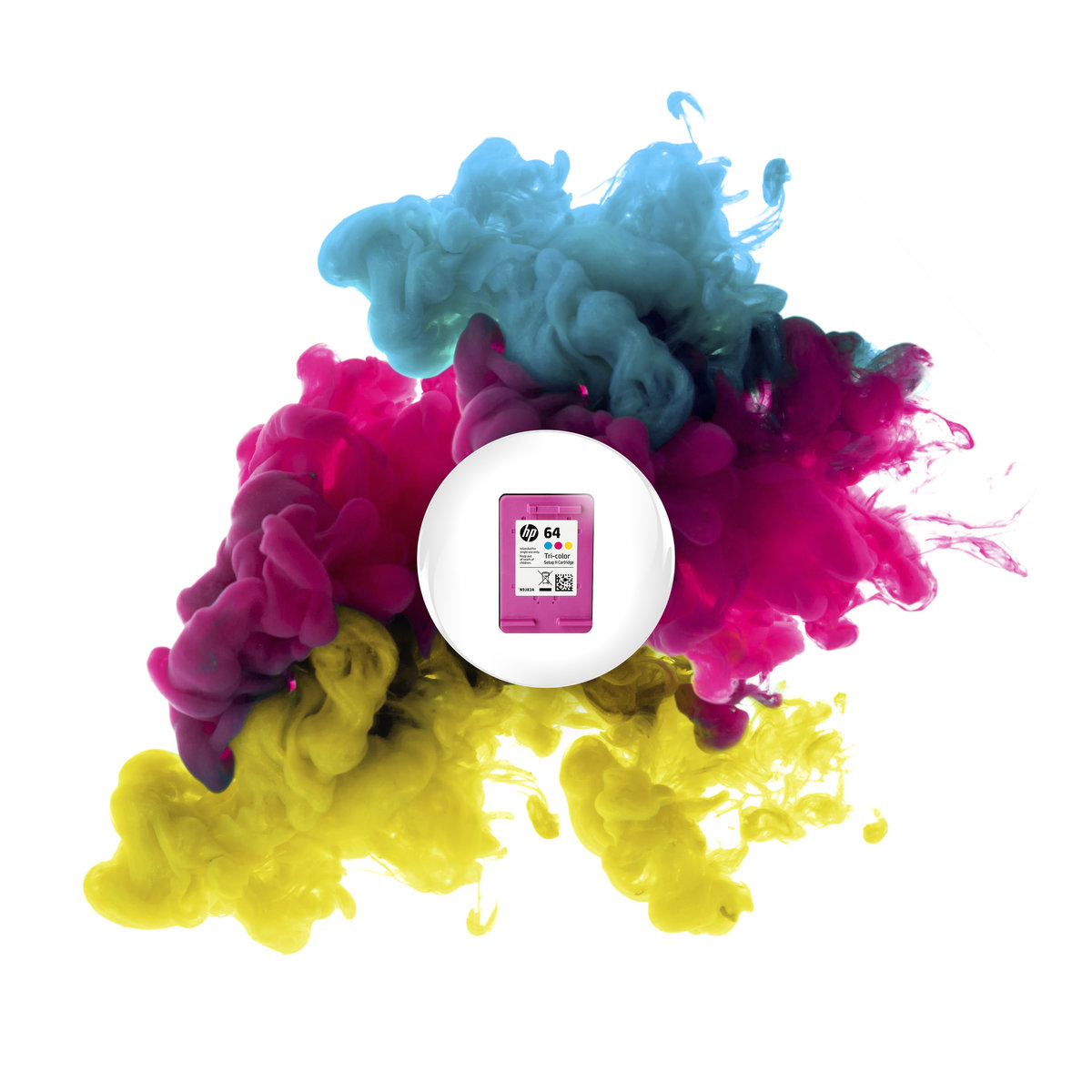 Hp 64xl Tri Color High Yield Original Ink Cartridge N9j91an Office