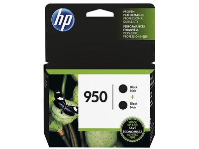 HP 950 2-pack Black Original Ink Cartridges