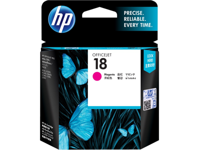 HP 18 Magenta Original Ink Cartridge