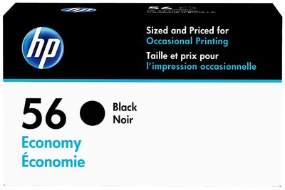 HP 56 Economy Black Original Ink Cartridge