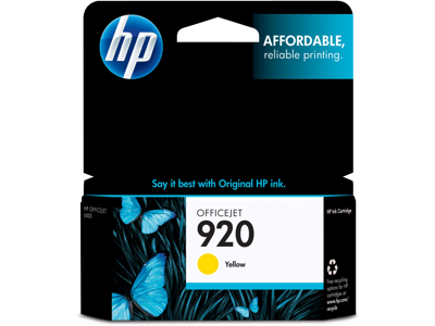 HP 920 Yellow Original Ink Cartridge