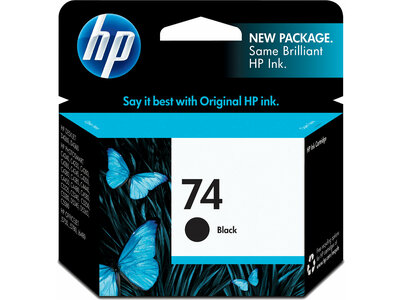 HP 74 Black Original Ink Cartridge