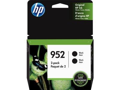 HP 952 2-pack Black Original Ink Cartridges