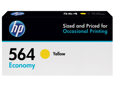 HP 564 Economy Yellow Original Ink Cartridge