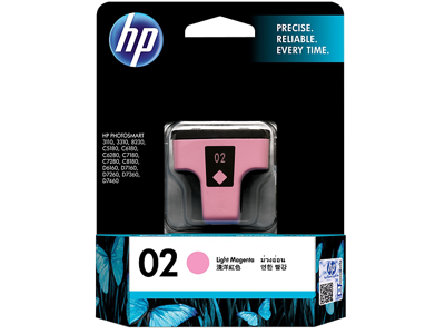 HP 02 Light Magenta Original Ink Cartridge