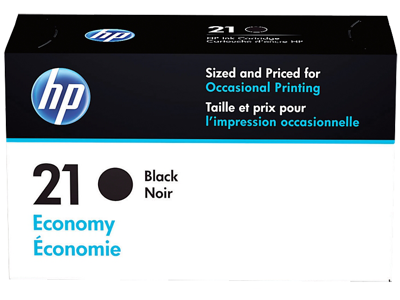 HP 21 Economy Black Original Ink Cartridge