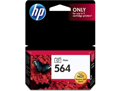 hp 564 photo original ink cartridge cb317wn office depot. Black Bedroom Furniture Sets. Home Design Ideas