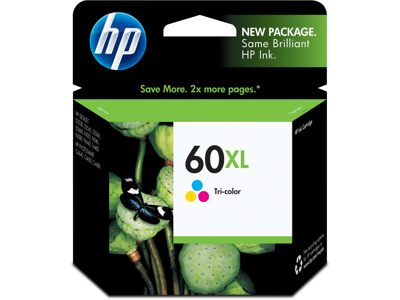 HP 60XL High Yield Tri-color Original Ink Cartridge