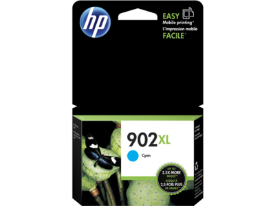 HP 902XL High Yield Cyan Original Ink Cartridge