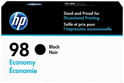 HP 98 Economy Black Original Ink Cartridge