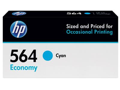 HP 564 Economy Cyan Original Ink Cartridge