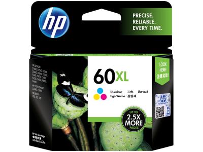 HP 60XL High Yield Tri-color Original Ink Cartridge