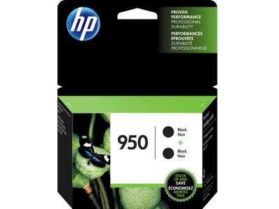 HP 950 2-pack Black Original Ink Cartridges