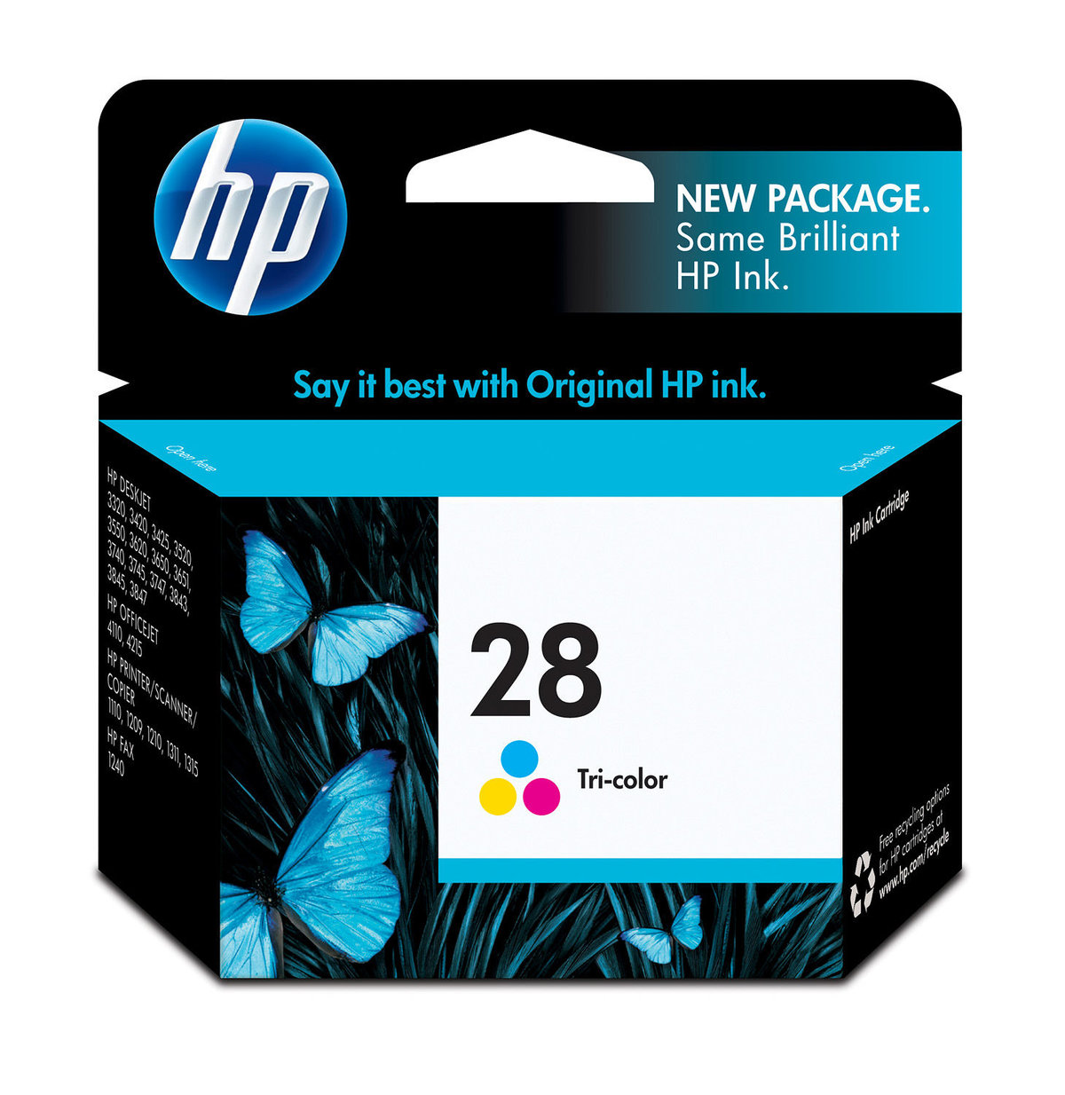 Astounding Hp 28 Tri Color Inkjet Print Cartridge C8728An Newegg Com Beutiful Home Inspiration Papxelindsey Bellcom