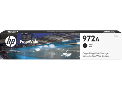 HP 972A Black Original PageWide Cartridge