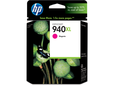 HP 940XL High Yield Magenta Original Ink Cartridge