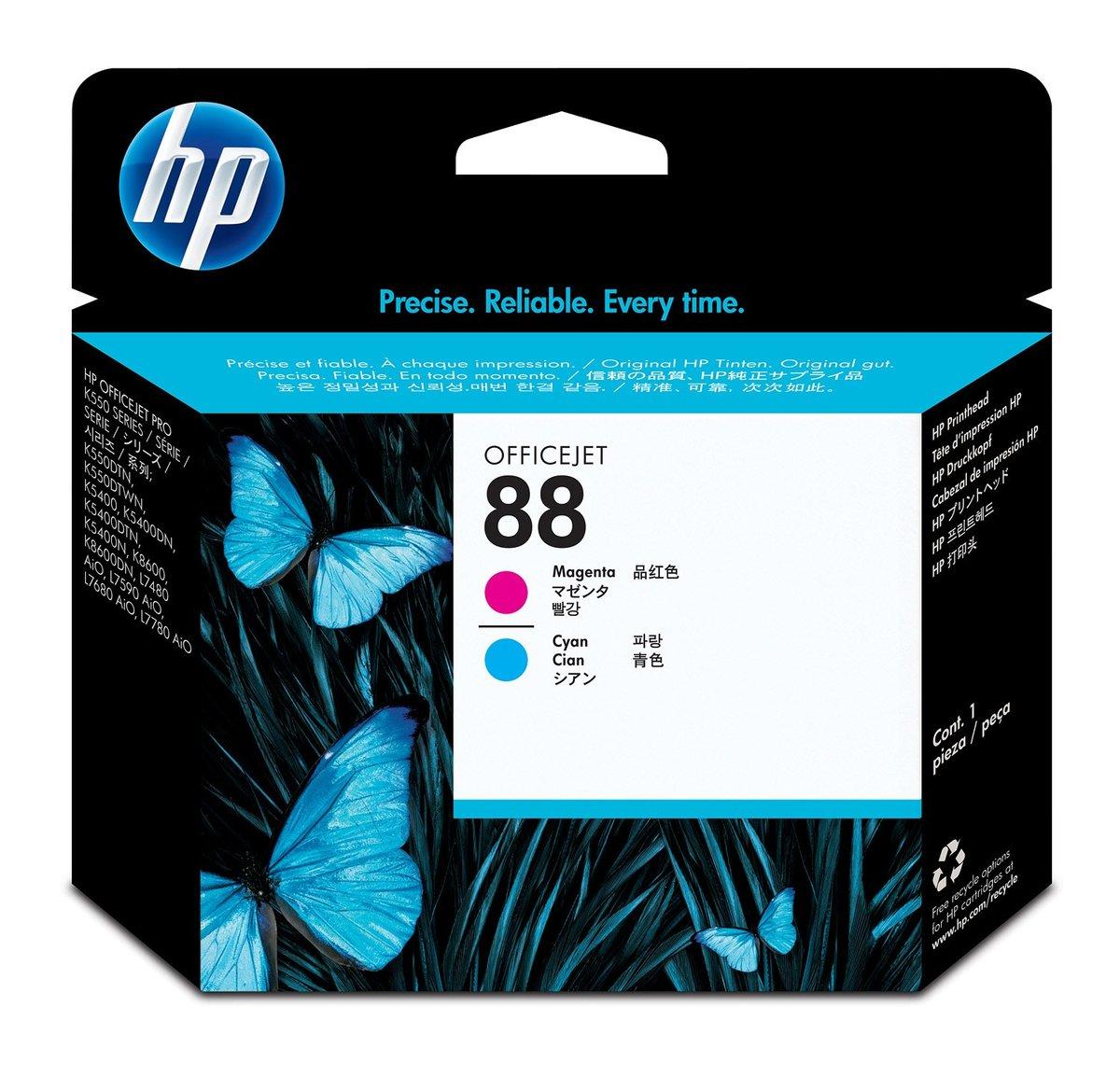 PROVANTAGE: HP C9382A HP 88 Magenta/Cyan Printhead for Officejet Pro K550