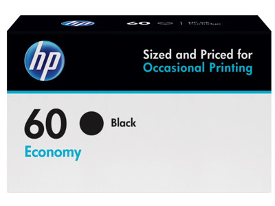 HP 60 Economy Black Original Ink Cartridge