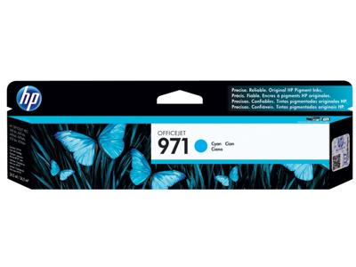 HP 971 Cyan Original Ink Cartridge