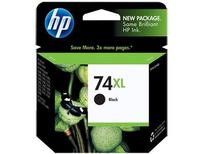 HP 74 Black/75 Tri-color 2-pack Original Ink Cartridges
