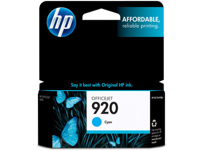 HP 920 Cyan Original Ink Cartridge