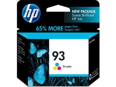 HP 93 Tri-color Original Ink Cartridge