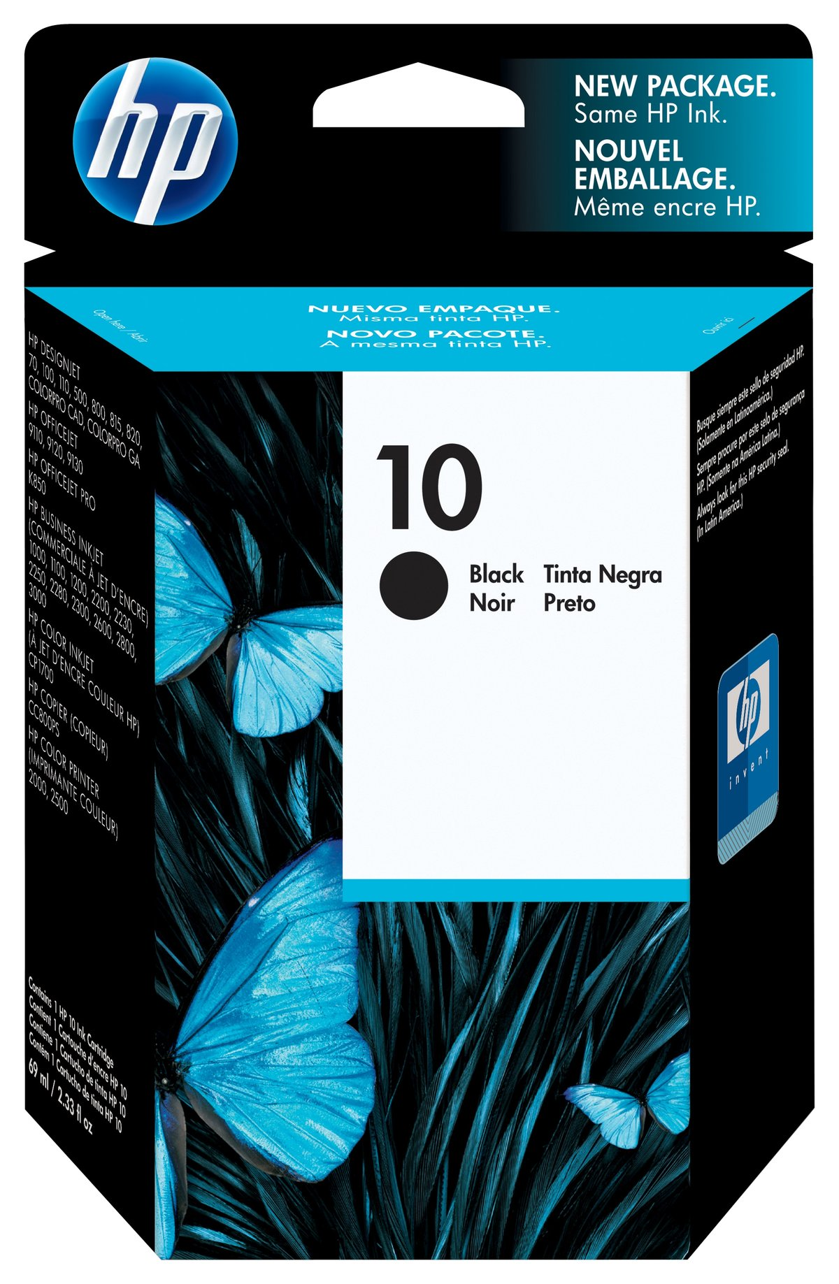 HP 10 Black Ink Cartridge C4844A By Office Depot OfficeMax