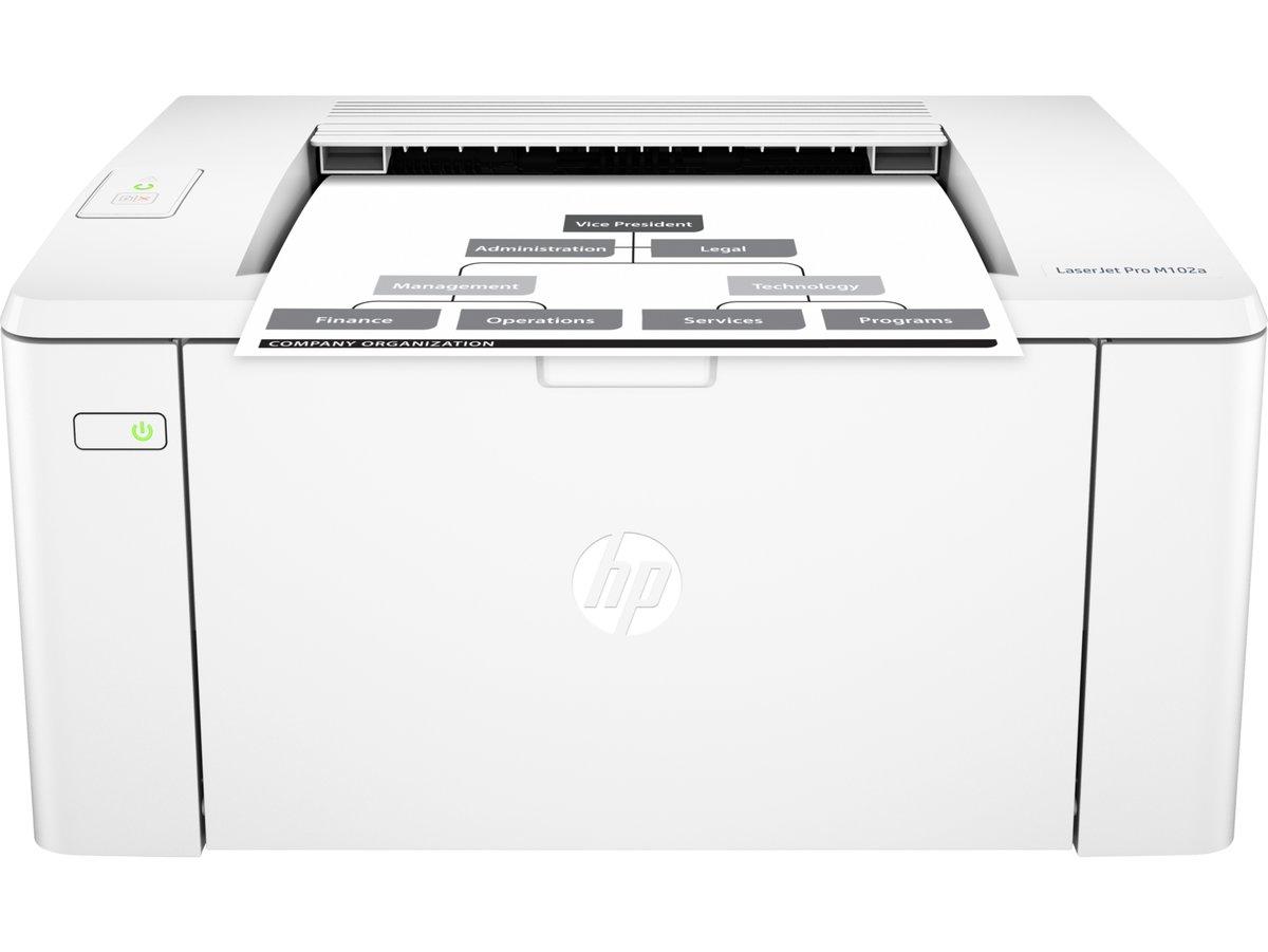 slide 2 of 4,show larger image, hp laserjet pro m102a printer