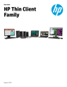 HP Thin Client Family Datasheet