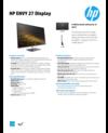 AMS HP ENVY 27 Display Datasheet