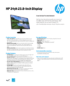 AMS HP 24yh 23.8-inch Display Datasheet
