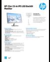 AMS HP 23er 23-in IPS LED Backlit Monitor Datasheet