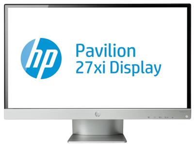 HP Pavilion 27xi 27-inch Diagonal IPS LED Backlit Monitor