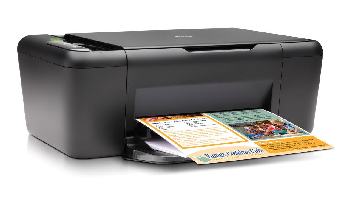 HP Deskjet F4480 All In One Printer Copier Scanner by Office Depot &  OfficeMax