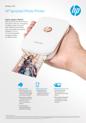 Datasheet for HP Sprocket Photo Printer (APJ English) (English)