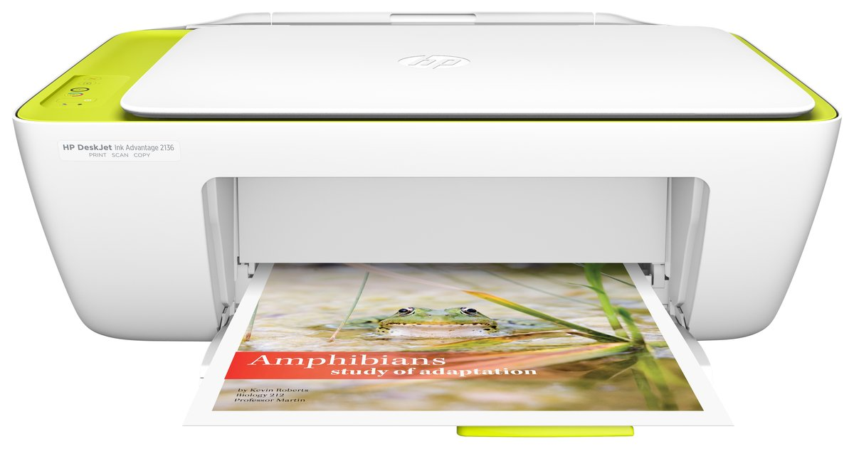 diapositivo 1 de 3,mostrar imagem maior, impressora multifuncional hp deskjet ink advantage 2136