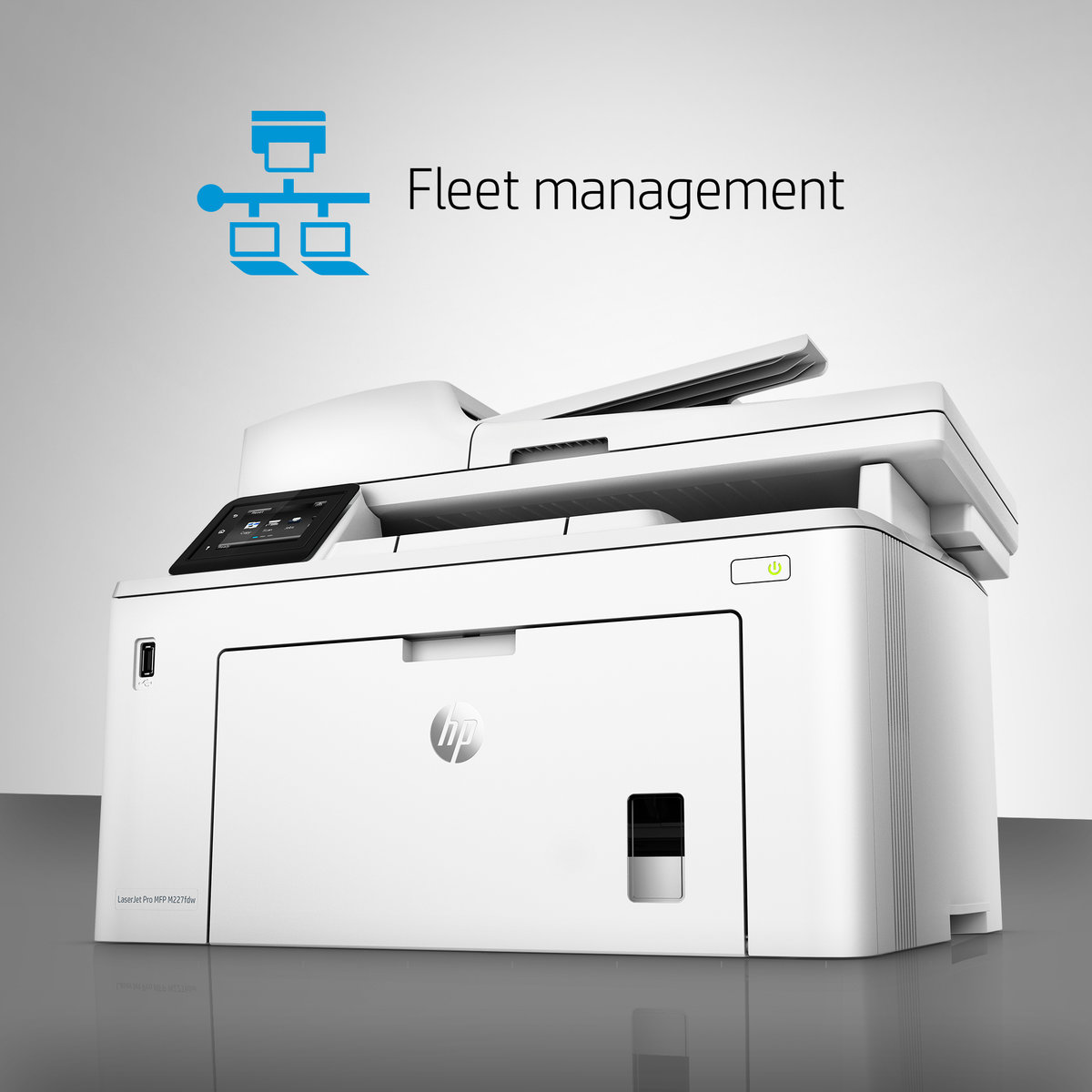 HP LaserJet Pro MFP M227fdw Wireless Monochrome All In One Printer ...