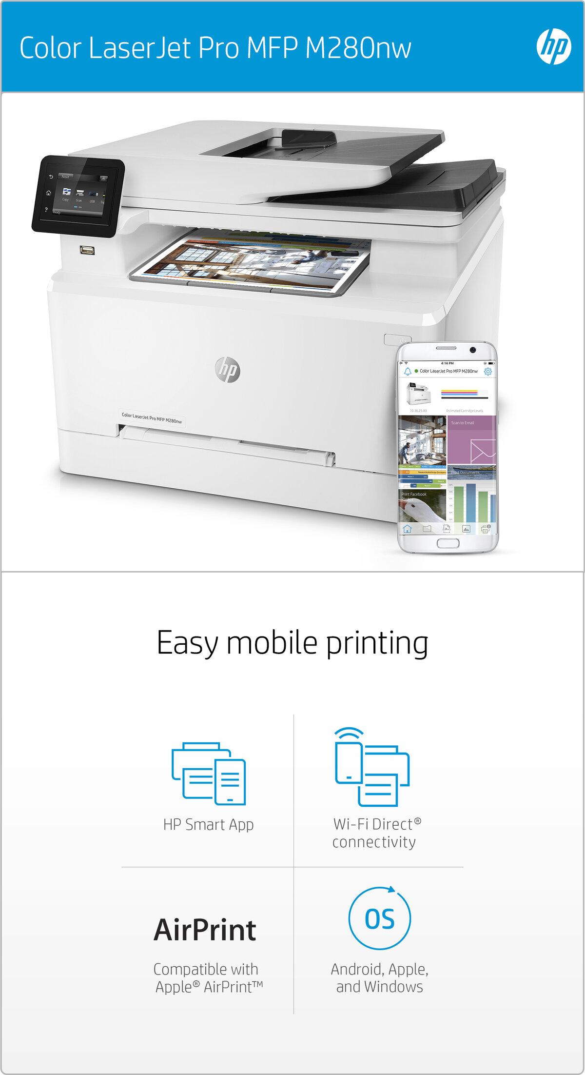 HP Color LaserJet Pro MFP M280nw - multifunction printer